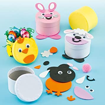 Kleine Schachteln Zum Basteln Zu Ostern Für Kinder Zum Basteln 3