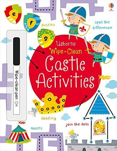Wipe-Clean Castle Activities (Usborne Wipe-Clean Books): Amazon.com: Books
