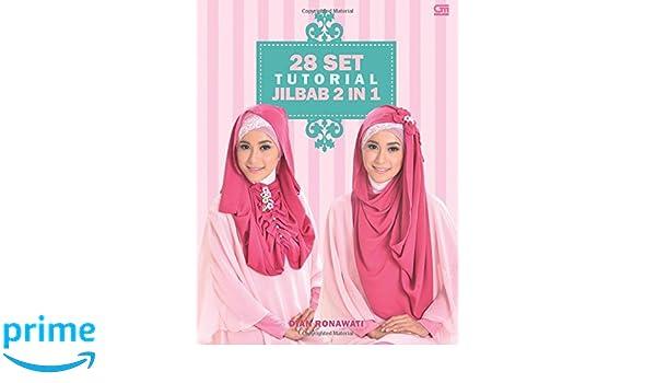 28 Set Tutorial Jilbab 2 in 1 (Indonesian Edition): Dian Ronawati: 9786020305424: Amazon.com: Books
