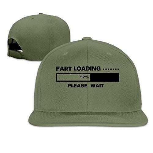 [Custom Unisex-Adult Please Wait Snapback Baseball Caps ForestGreen] (Jovi Elf Costume Sale)