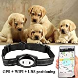 Acogedor Pet GPS Dog GPS Tracker Collar,Pet Locator Dog GPS Locator-IP67 Waterproof-Night Light Function-GPS + WiFi + LBS-10minutes Real Time Update