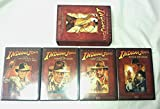 The Adventures of Indiana Jones (Raiders of the Lost Ark / The Temple of Doom / The Last Crusade / Bonus Material) by Paramount Home Video