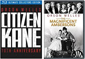 Citizen Kane (Amazon Exclusive 70th Anniversary Ultimate Collector's Edition + The Magnificent Ambersons on DVD) [Blu-ray]