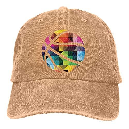 (Yuan Kun Basketball Unisex Washed Adjustable Fashion Cowboy Hat Denim Baseball Caps)