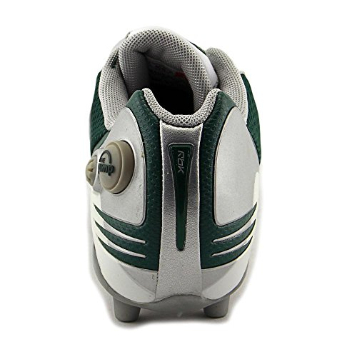 Reebok Pro Pump Burnerspd Low M2 Men Round Toe Synthetic White Cleats White/Green ThAoY