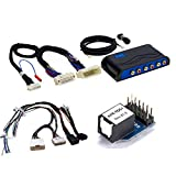 PAC AmpPRO Amplifier Replacement Interface Interface with Optical Digital Output Module and 18' Speaker Wire Harness