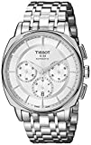 Tissot Men's T0595271103100 T Lord Analog Display Swiss Automatic Silver Watch