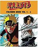 NARUTO : Coloring Book : Series (Vol.1 - 2): adult coloring book
