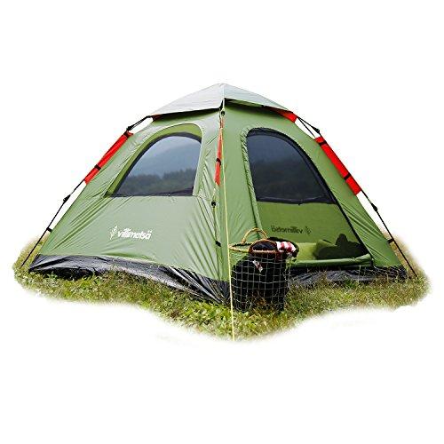 シート農学保証Villimetsa オートテント 【 2~3人用テント 】【 4~5人用テント 】お選びいただけます