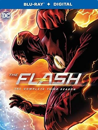 Amazon com: THE FLASH Complete Season 3 Blu-ray/Digital HD