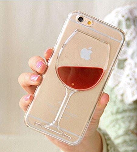 COQUE VERRE DE VIN ROUGE iPHONE 5C