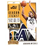 Basketball NBA 2018-19 Panini Contenders Season Ticket #39 Donovan Mitchell.