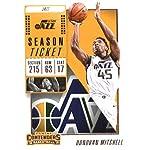 Basketball NBA 2018-19 Panini Contenders Season Ticket #39 Donovan Mitchell.