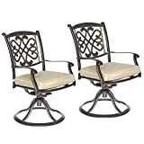 Cheap dali Patio Glider chairs, Garden Backyard Chairs Outdoor Patio Furniture 2 Pcs Sets