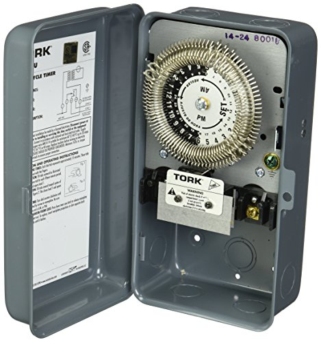 24 Hour Electronic Time Switch - 8000 Series Many Daily ON/OFF Operations Per Day Duty Cycle 24 Hour Time Switch, Metal Indoor NEMA 1, 480/120 Trans. Input Supply, SPDT Output Contact