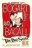 The Big Sleep Poster 27x40 Humphrey Bogart Lauren Bacall John Ridgely