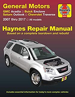 gmc acadia, buick enclave, saturn outlook, chevrolet traverse 2007