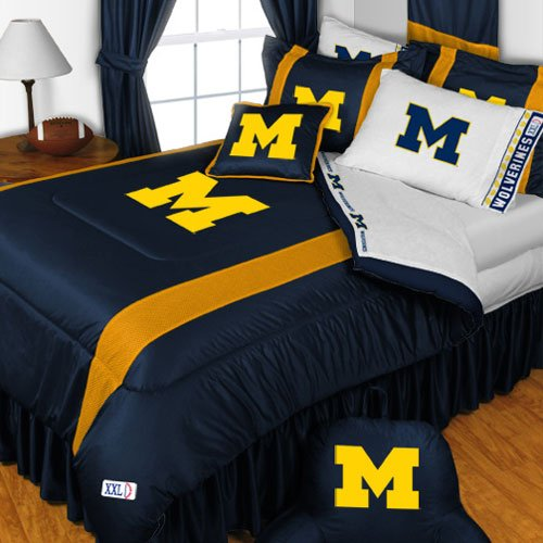 NCAA Michigan Wolverines - 5pc BED IN A BAG - Full/Double Bedding Set by Store51