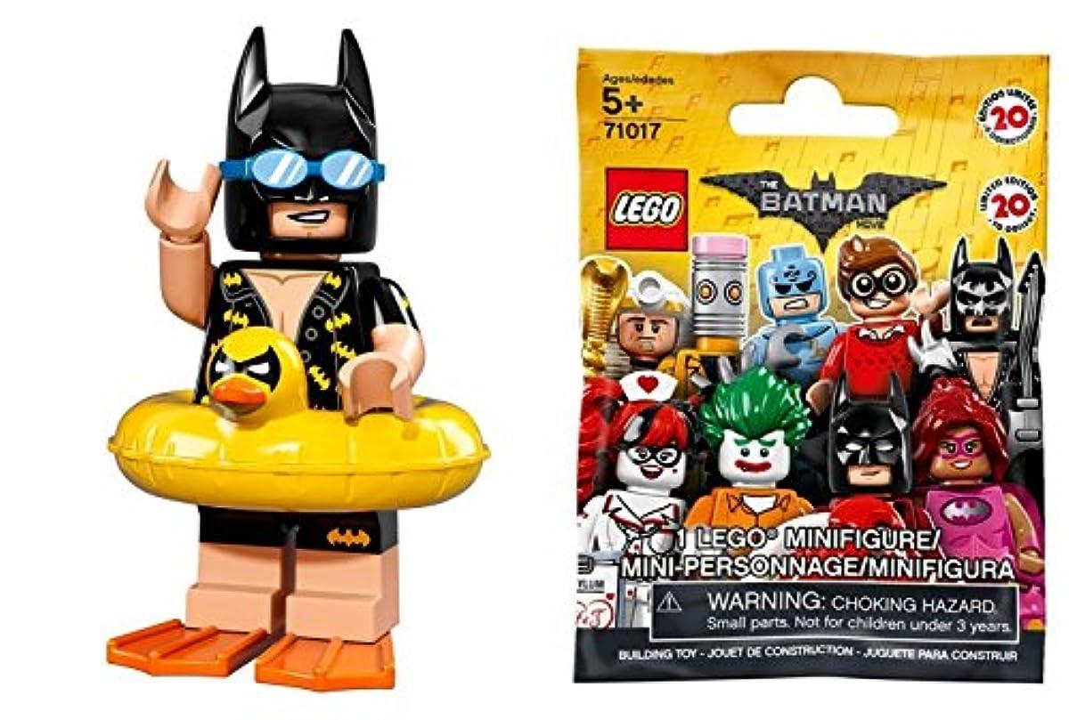 [해외] 레고 배트맨 더무비 미니 피규어 시리즈 휴식배트맨(미개봉품) THE LEGO BATMAN MOVIE MINIFIGURES SERIES VACATION BATMAN 【71017-5】