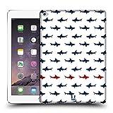 Head Case Designs Parallel Shark Prints Hard Back Case for Apple iPad Air 2