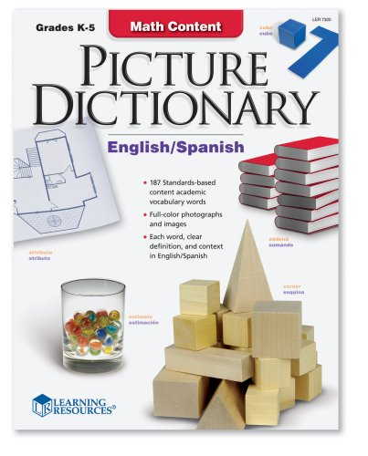 Learning Resources Math Content Picture (Ell Dictionary)