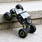 RC Rock Crawler, YKS Remote Control Car Toys High Speed Racing Cars Off-Road Vehicle Electric Monster Truck with 2.4 GHz Control System 4WD 1:18 Size