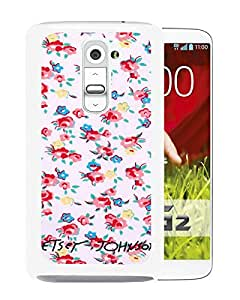 Betsey Johnson 09 White LG G2 Screen Phone Case Nice and Unique Design