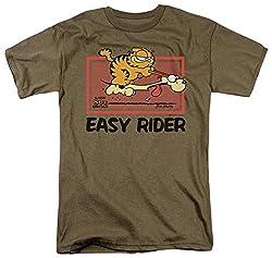 Garfield Vintage Easy Rider T Shirt Size S