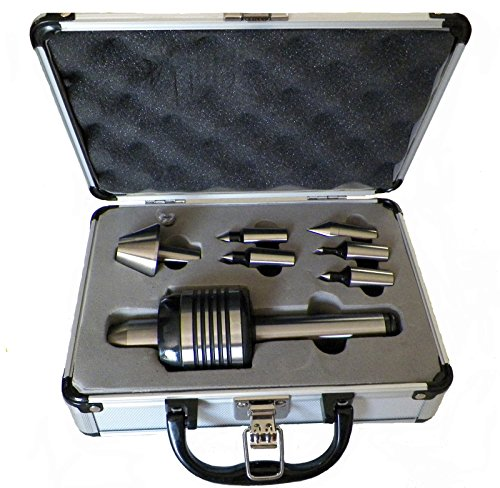 Z LIVE CENTER ZLC07012MT2 Precision Interchangeable Live Center  for Lathe, Morse Taper 2 by Z LIVE CENTER