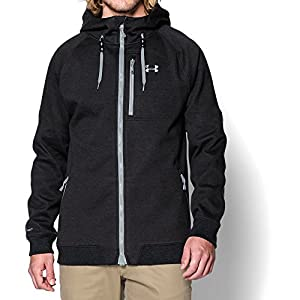 Under Armour Men's Storm ColdGear Infrared Dobson Softshell, Asphalt Heather/Steel, Large