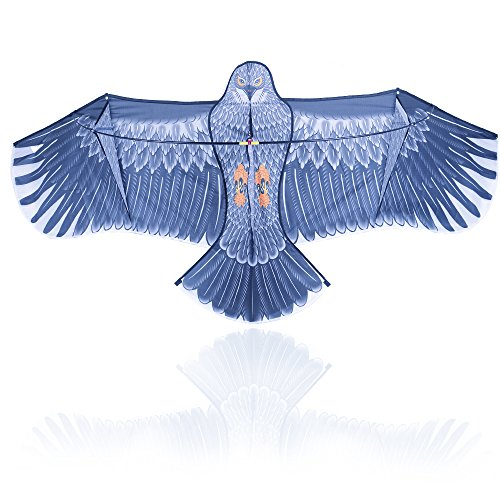 geekercity-flying-eagle-kite-kit-15m-portable-strongest-bird-shaped-flying-kite-for-kids-and-adults-