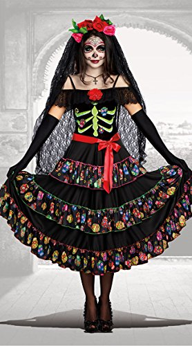 Un Disfraz Para Halloween Original (Dreamgirl Women's Lady of The Dead, Multi,)