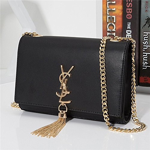 temperament Ladies shoulder bag casual All square fashion cross single GMYAN skew simple black bag BqSCwwU