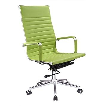 Pleasant Koval Inc High Back Ergonomic Office Chair Desk Chair Green Machost Co Dining Chair Design Ideas Machostcouk