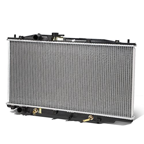 For 05-07 Honda Accord V6 Hybrid 1-1/4 inches Inlet OE Style Aluminum Direct Replacement Racing Radiator (Hybrid Accord 2005 Honda)