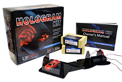 Litiholo Hologram Kit - Make 3D Laser Holograms with ''Instant Hologram'' Film by LITI HOLOGRAPHICS