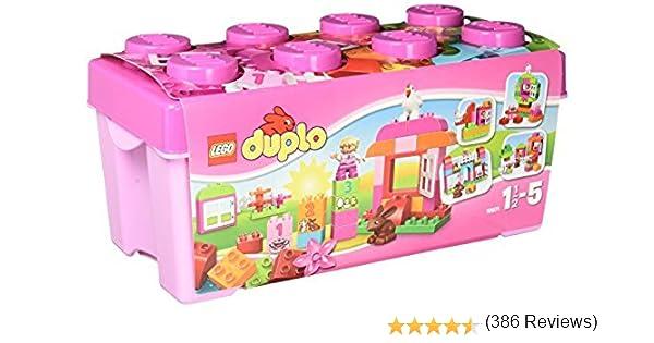 LEGO Duplo - Caja Rosa de Diversión Todo en Uno - 10571: Amazon.es ...
