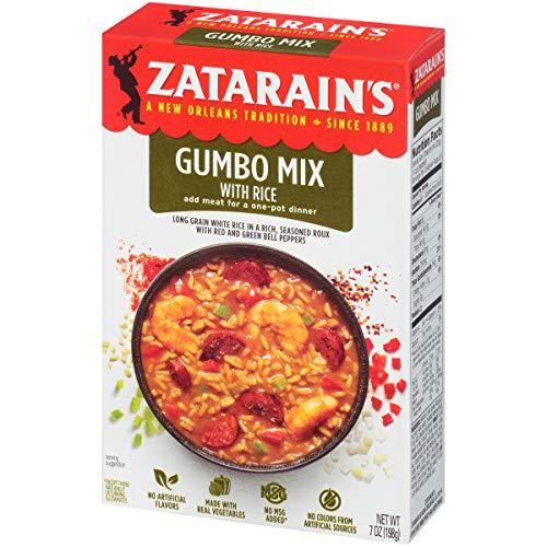 Gumbo Zatarains Mix - Zatarain's Gumbo Mix, 7 oz (Pack of 12)