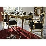 konsole mit spiegel eur 5 999 90 casa padrino barock esszimmer set schwarz gold esstisch 6 stuhle mobel antik