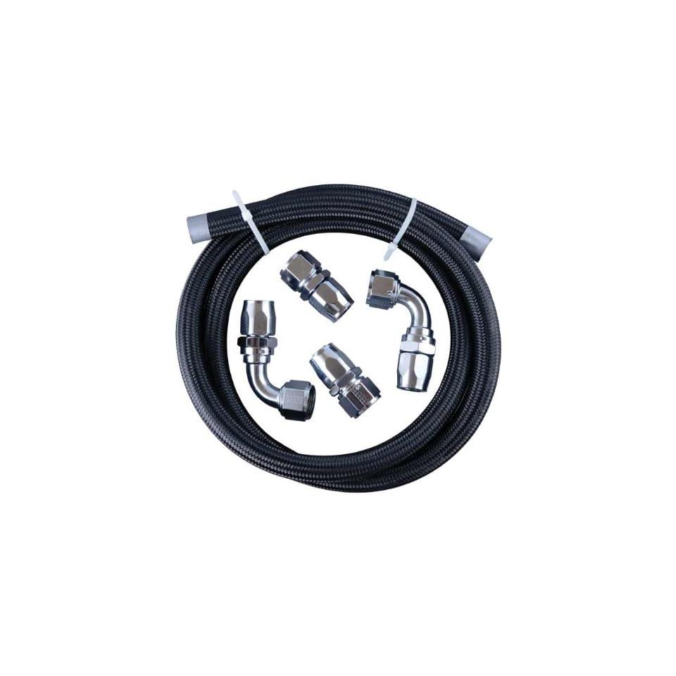 Fragola Vacuum Pump Plumbing Kit,  12 AN   Chrome