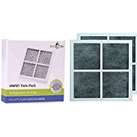 2 x Replacement Refrigerator Air Filter - LG LT120F, ADQ73214402, ADQ73214404 - Twin pack