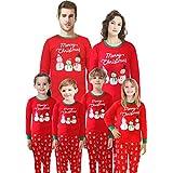 Matching Family Christmas Pajamas Santa Claus Red Sleepwear for Men Dad Size XXL