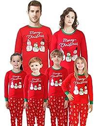Matching Family Pajamas Christmas Santa Claus Sleepwear...