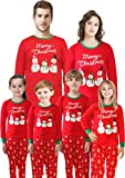 Matching Family Christmas Pajamas Santa Claus Red Sleepwear Men Dad Size L