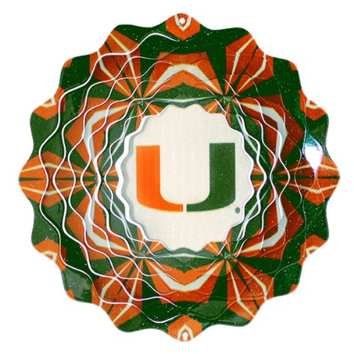 Iron Stop University of Miami Wind Spinner ()