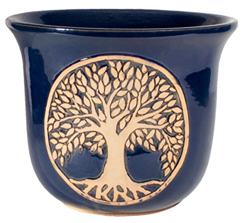 Burley Clay Glazed Tree of Life 12