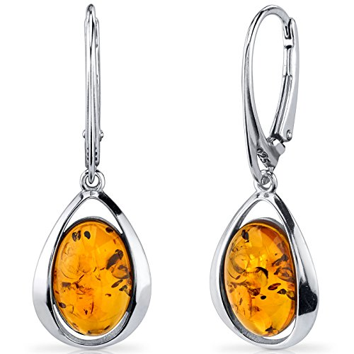 Style Amber Earrings - 1