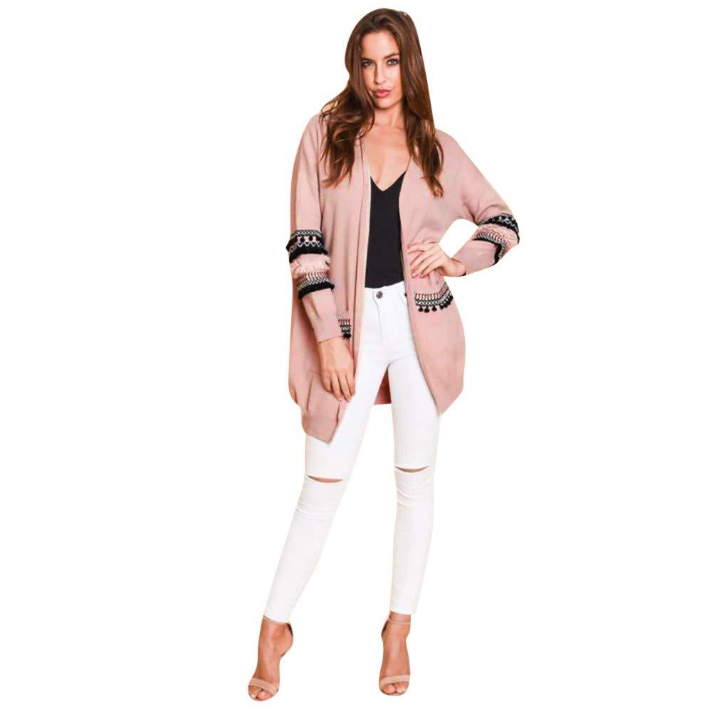 Long Bohemia Cardigan, Women's Winter Long Sleeve Coat Outwear Changeshopping Changeshopping Blouse change197