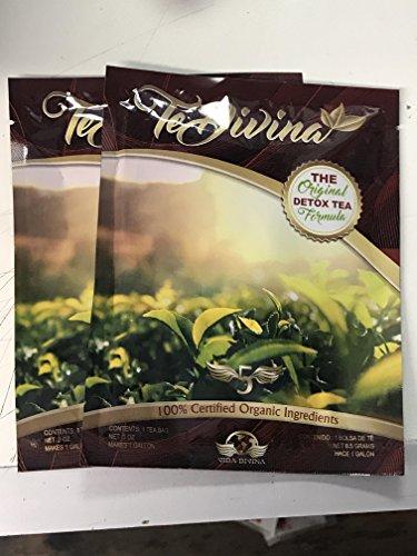 Best Seller Best deal Authentic,In stock, TeDivina 2 packs, 2 weeks supply,coming back of the  original  detox tea, way more effective than iaso tea