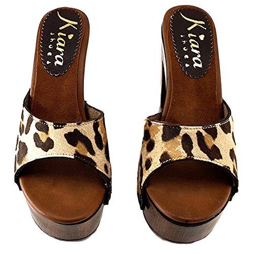 Chaussures Cavallino Haut kiara en 12Cm shoes Cuir K3010 50IOI